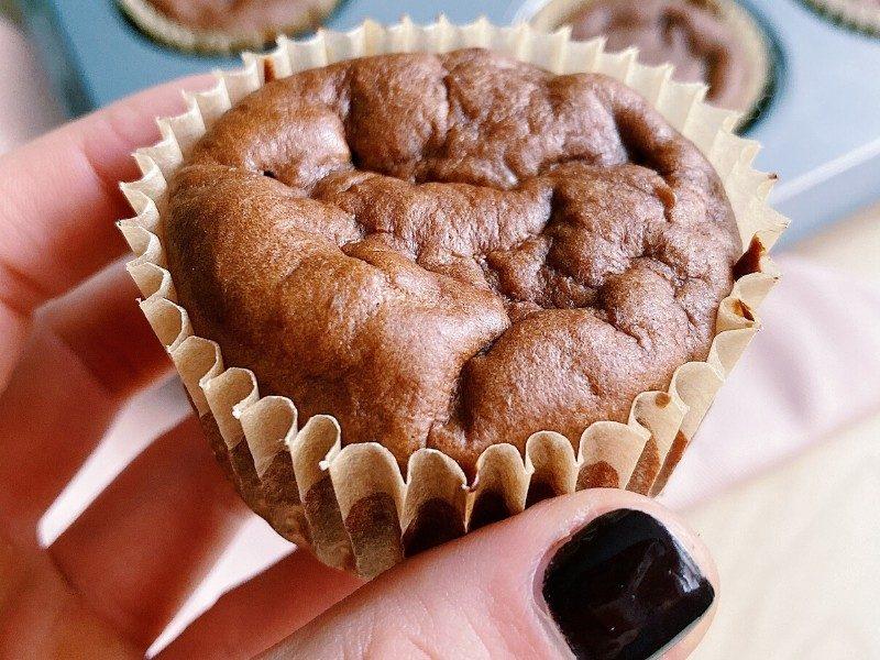 High Protein Chocolate Breakfast Muffins