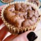 High Protein Chocolate Breakfast Muffins