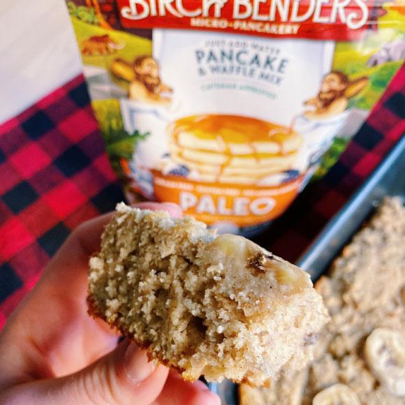 Easiest Paleo Banana Bread