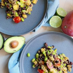 High Protein Taco Chili Bean Salad