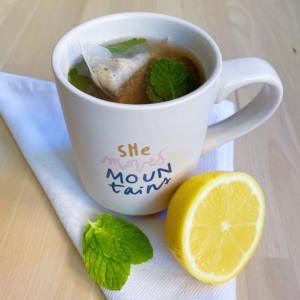 Lemon With Copycat Starbucks Medicine Ball Tea