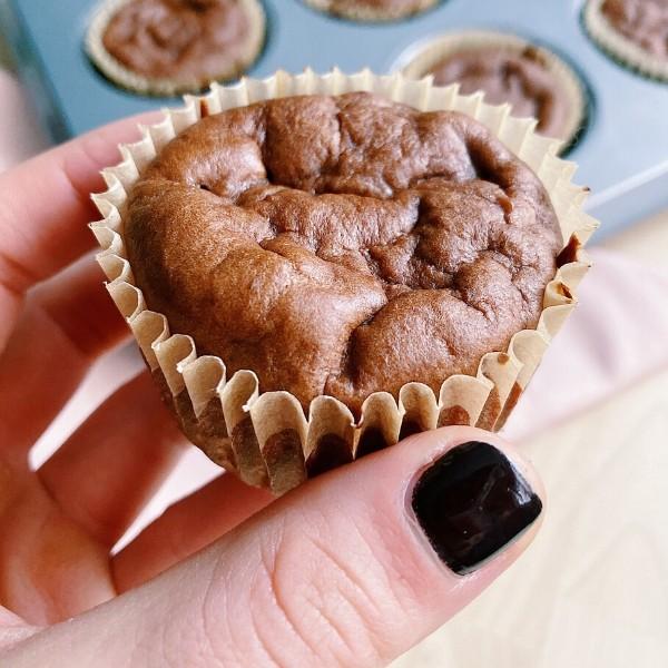 High Protein Chocolate Breakfast Muffin