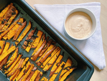 Side Dish Recipes - Mouthwatering Sweet Potato Fries