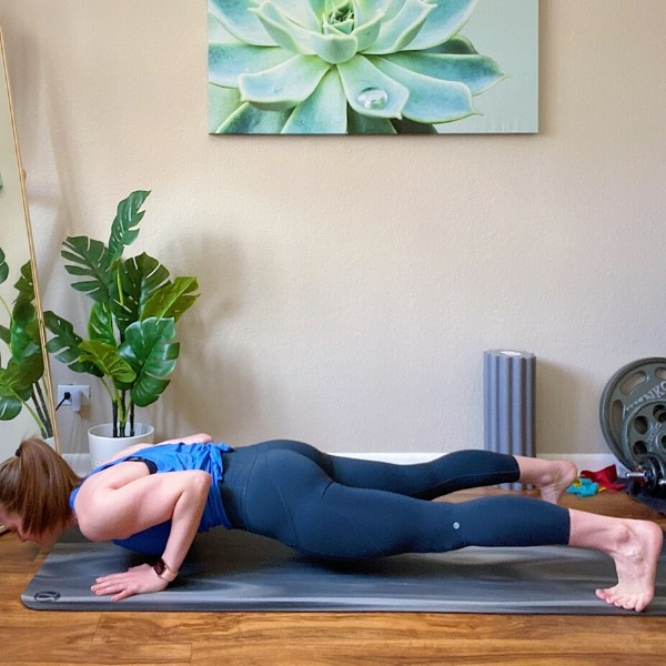 Push Up to Plank Pike Position 1