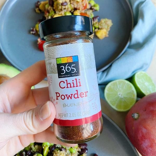 High Protein Taco Chili Bean Salad - Taco Chili Powder