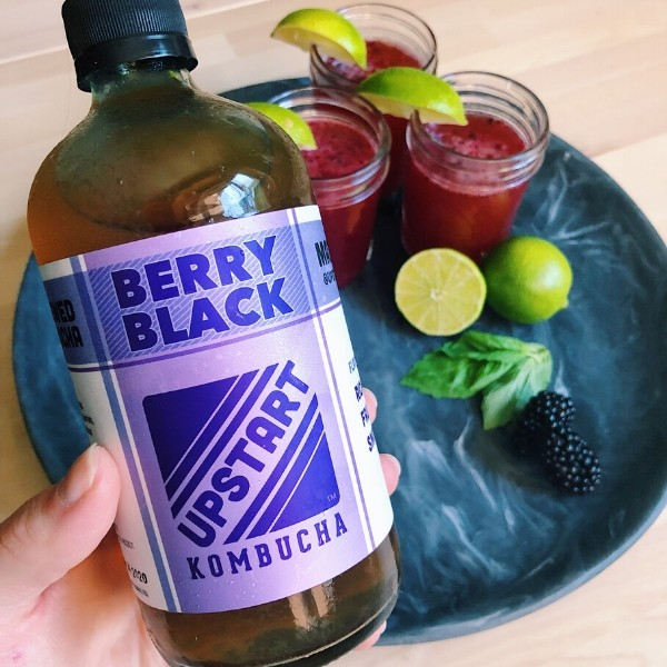 Upstart Berry Black Kombucha