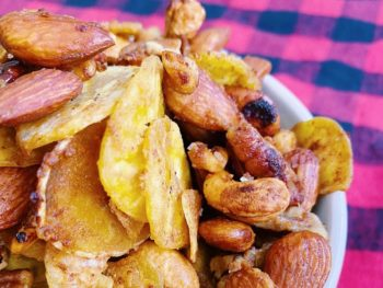 Paleo Honey Mustard Snack Mix
