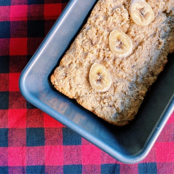 Loaf of Paleo Banana Bread
