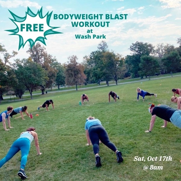 Bodyweight Blast Workout 10.17.20