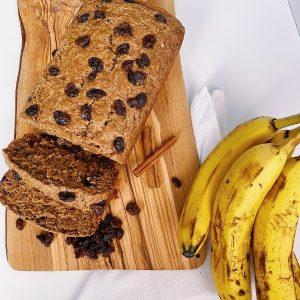 Cinnamon Raisin Banana Bread