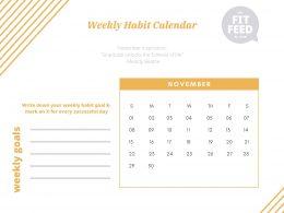 Habits Calendar