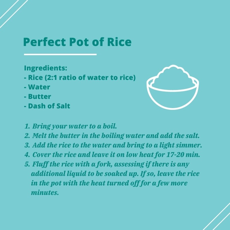 making the perfect pot of rice