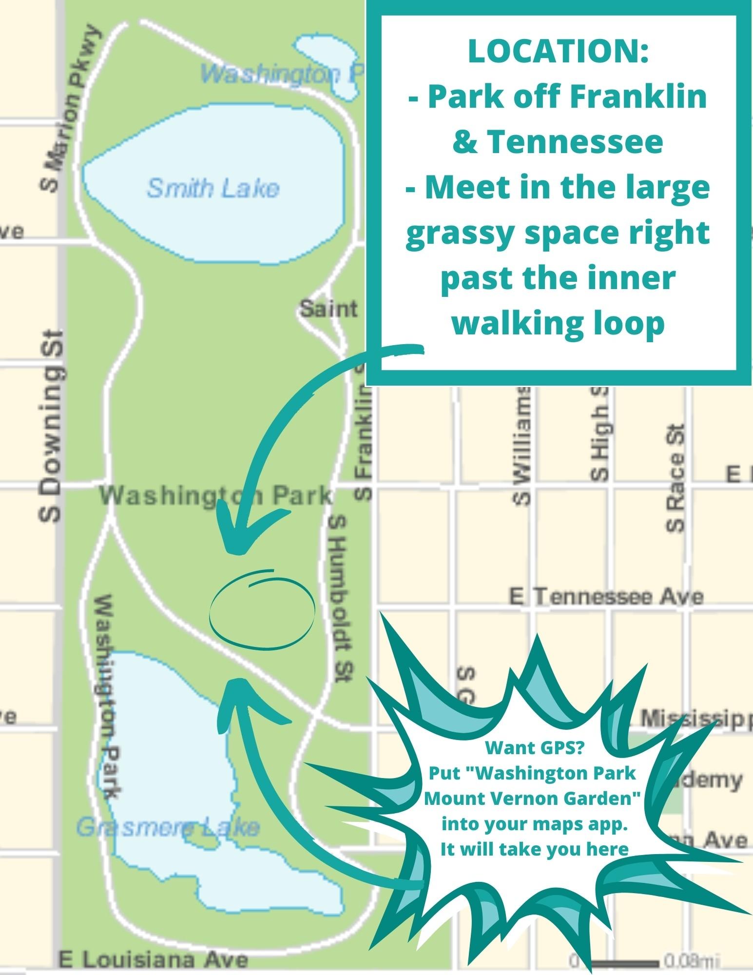 Teal Wash Park Map