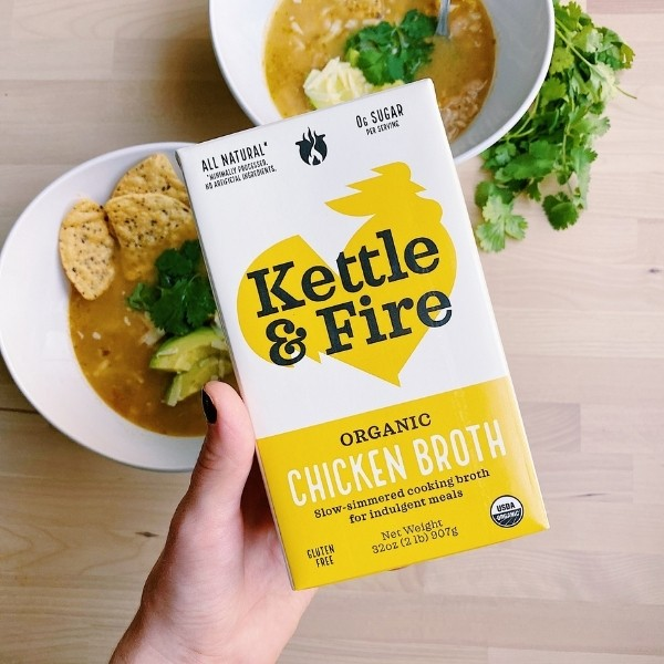 Kettle & Fire Organic Chicken Broth