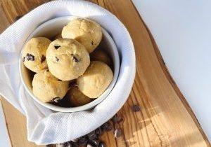 Cookie Dough Protein Balls